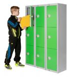1370mm Three Door School ELITE Locker